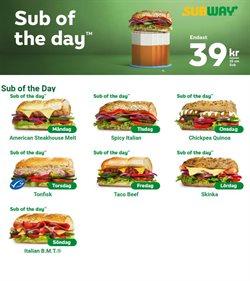 Subway-katalog ( 3 dagar kvar )