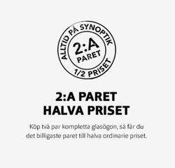 Hälsa och skönhet erbjudanden i Synoptik katalogen i Jönköping