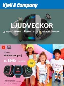 Erbjudanden från Elektronik och Vitvaror i Kjell & Company ( 2 dagar kvar)