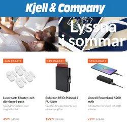 Erbjudanden från Elektronik och Vitvaror i Kjell & Company ( Publicerades idag)