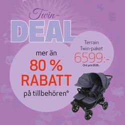 Leksaker och barnartiklar erbjudanden i Babyproffsen katalogen i Uppsala