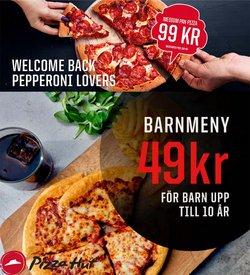 Erbjudanden från Restauranger och Kaféer i Pizza Hut ( 5 dagar kvar)