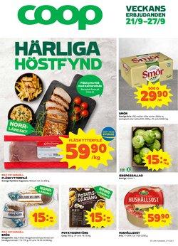 Matbutiker erbjudanden i Coop katalogen i Skellefteå ( Går ut imorgon )