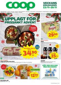 Matbutiker erbjudanden i Coop katalogen i Trelleborg ( Går ut imorgon )