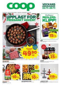 Matbutiker erbjudanden i Coop katalogen i Lidköping ( 2 dagar kvar )