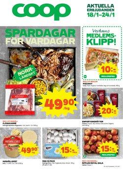 Matbutiker erbjudanden i Coop katalogen i Skellefteå ( Går ut idag )