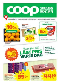 Matbutiker erbjudanden i Coop katalogen i Varberg ( 3 dagar kvar )