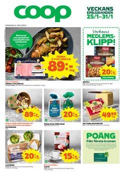 Matbutiker erbjudanden i Coop katalogen i Kungälv ( 2 dagar sedan )