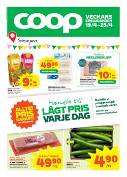 Matbutiker erbjudanden i Coop katalogen i Örebro ( Publicerades igår )