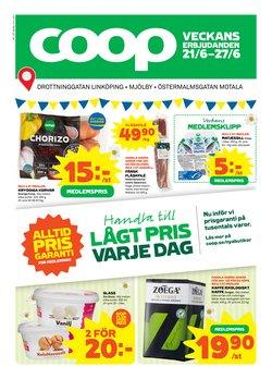 Erbjudanden från Matbutiker i Coop ( Publicerades idag)