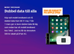 Erbjudanden från Tele2 i Stockholm