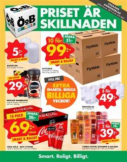 Matbutiker erbjudanden i ÖoB katalogen i Kungälv ( 2 dagar sedan )