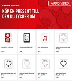 Elektronik och vitvaror erbjudanden i Audio Video katalogen i Stockholm