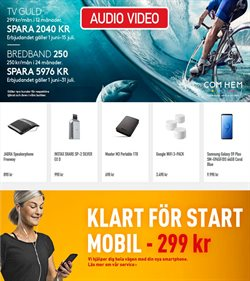 Smartphones erbjudanden i Audio Video katalogen i Stockholm