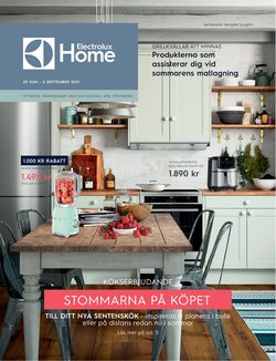 Electrolux Home-katalog ( Mer än en månad)