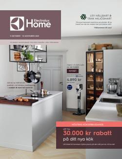 Erbjudanden från Electrolux Home i Electrolux Home ( 22 dagar kvar)