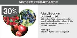 Erbjudanden från Plantagen i Stockholm