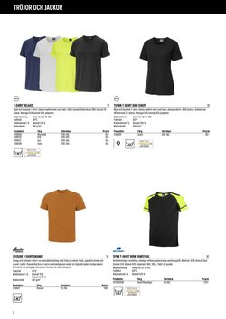 Erbjudanden i kategorin T-shirt dam i Swedol