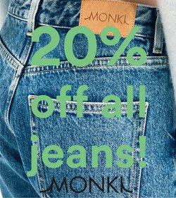 Erbjudanden från Monki i Monki ( 2 dagar kvar)