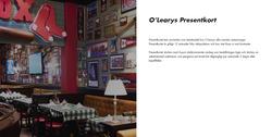 Restauranger och Caféer erbjudanden i O'Learys katalogen i Jönköping