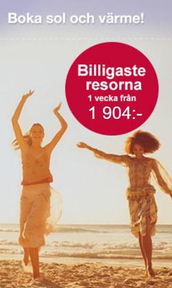 Resor erbjudanden i Ticket.se katalogen i Stockholm