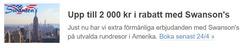 Resor erbjudanden i Ticket.se katalogen i Helsingborg