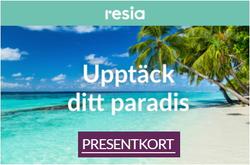 Resor erbjudanden i Resia katalogen i Jönköping