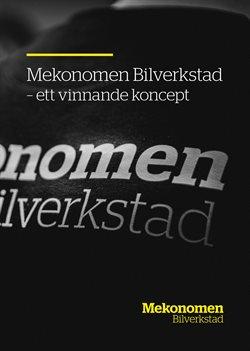 Bil och motor erbjudanden i Mekonomen katalogen i Stockholm