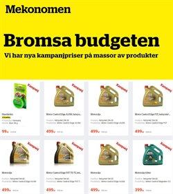 Mekonomen-katalog ( Mer än en månad )