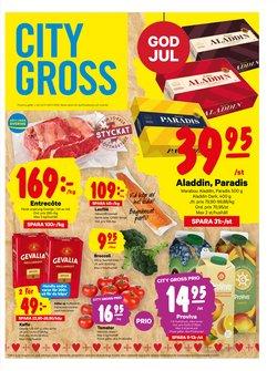 Matbutiker erbjudanden i City Gross katalogen i Trelleborg ( Går ut imorgon )