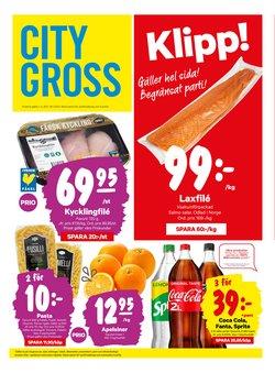 Matbutiker erbjudanden i City Gross katalogen i Kungälv ( 2 dagar sedan )