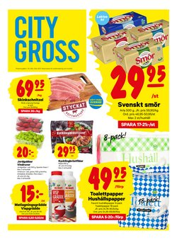 Matbutiker erbjudanden i City Gross katalogen i Örebro ( Publicerades igår )