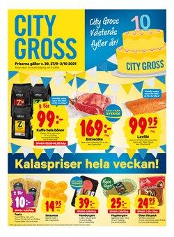 City Gross-katalog ( Publicerades idag)