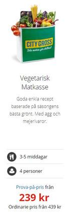 Erbjudanden från City Gross i Malmö