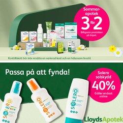 Erbjudanden från Apotek och Hälsa i Lloyds Apotek ( 9 dagar kvar)