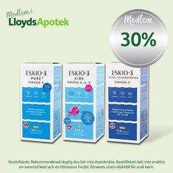 Erbjudanden från Apotek och Hälsa i Lloyds Apotek ( Publicerades idag)