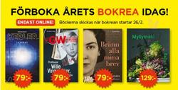Böcker och kontor erbjudanden i Akademibokhandeln katalogen i Burlöv