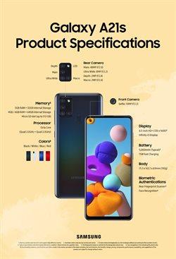 Erbjudanden från Elektronik och Vitvaror i Samsung ( Mer än en månad )