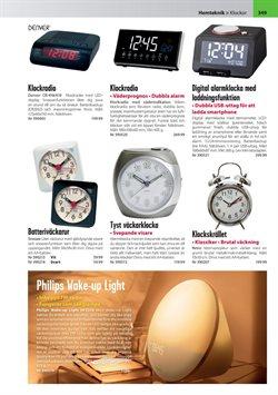 Väckarklocka erbjudanden i Teknikmagasinet katalogen i Stockholm