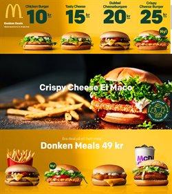 Erbjudanden från Restauranger och Kaféer i McDonald's ( Mer än en månad )