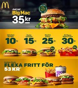 Restauranger och Kaféer erbjudanden i McDonald's katalogen i Kungälv ( Mer än en månad )