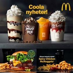 Erbjudanden från Restauranger och Kaféer i McDonald's ( 2 dagar kvar)