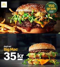 Erbjudanden från Restauranger och Kaféer i McDonald's ( 7 dagar kvar)