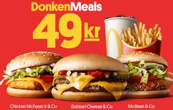 Erbjudanden från McDonald's i Malmö