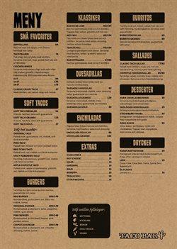 Taco Bar-katalog ( 22 dagar kvar )