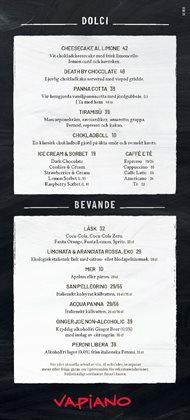 Vapiano-katalog ( Har gått ut )