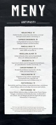 Vapiano-katalog ( 3 dagar kvar )