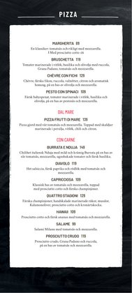 Erbjudanden i kategorin Pizza i Vapiano