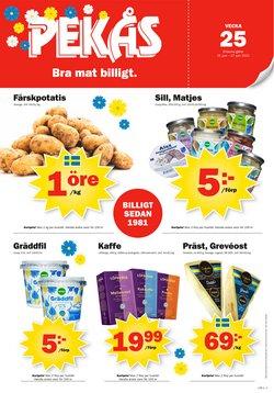 Erbjudanden från Matbutiker i Pekås ( Publicerades idag)