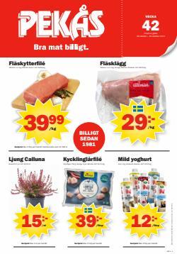 Erbjudanden från Matbutiker i Pekås ( 2 dagar kvar)